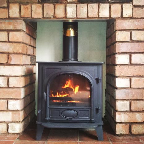 Stovax Stockton 7 Solid Fuel Stove Nailers Cottage